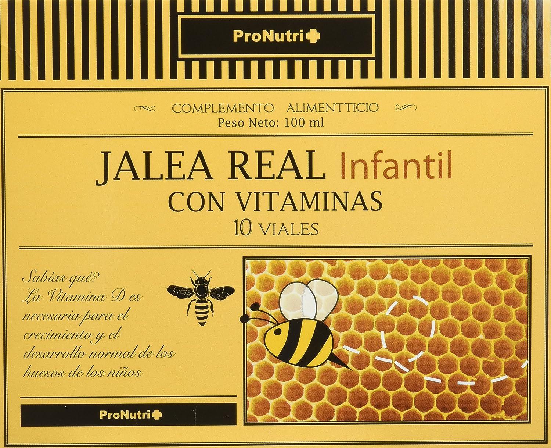 ProNutri Jalea Real Infantil con Vitaminas - 2 Paquetes de 10 ...