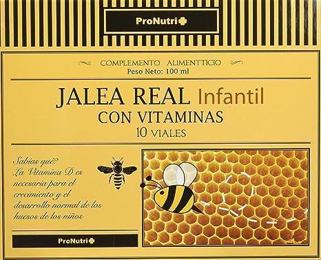 ProNutri Jalea Real Infantil con Vitaminas - 2 Paquetes de 10 Unidades