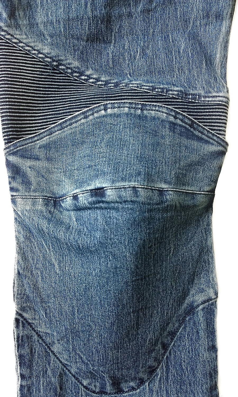 L Blu NERVE 22140116/_04 Pantaloni Moto Ranger Jeans