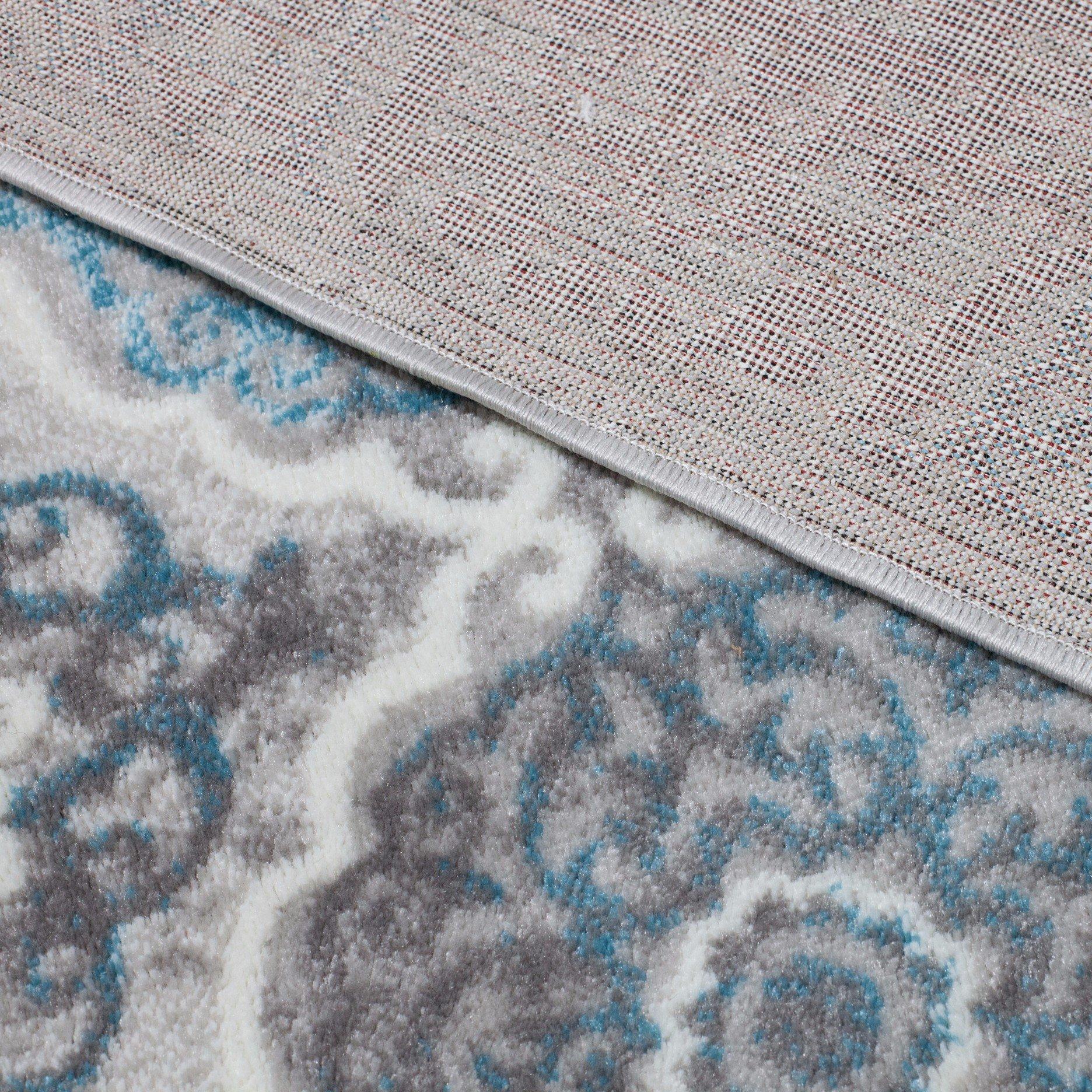 Home Dynamix Boho Andorra 5'2'' x7'2 Area Rug Gray/Blue by Home Dynamix (Image #8)