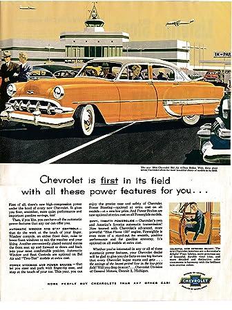 Amazon 1954 Chevrolet Bel Air 4 Door Sedan Original 135