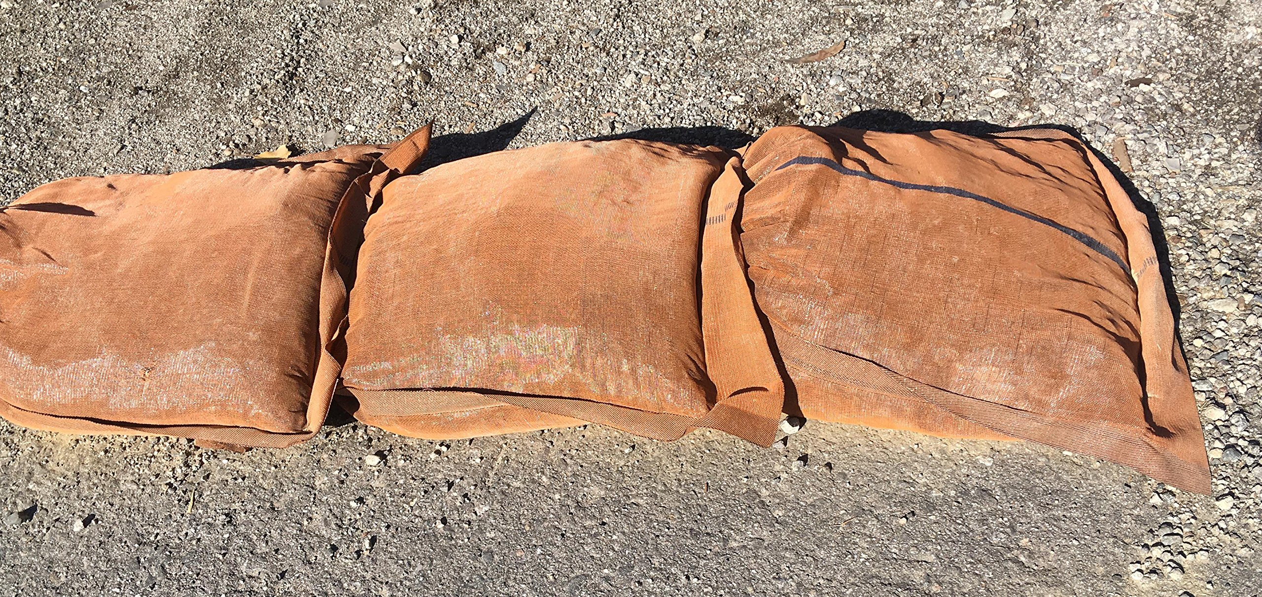 Sandbaggy - 17'' x 27'' Long-Lasting Sandbags - Brown Color - Lasts 1-2 Yrs - Monofilament (Pack of 100) by Sandbaggy (Image #7)