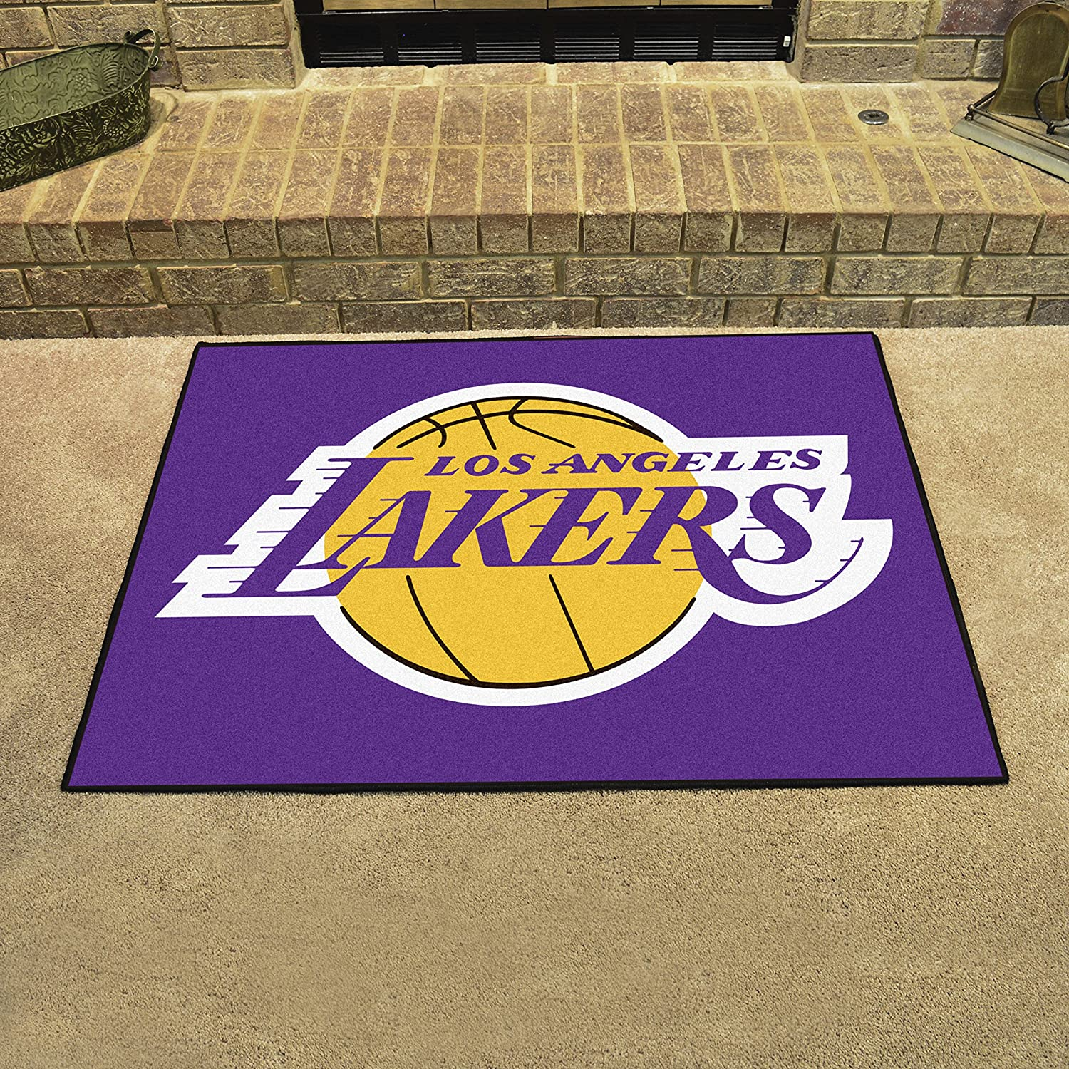 Los Angeles Lakers All-Star Mat FANMATS 19448 Team Color 33.75x42.5 NBA
