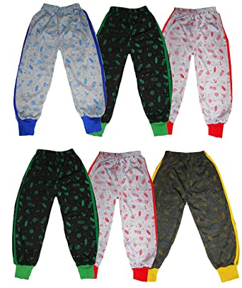 e4f91f29e KIFAYATI BAZAR Boy's and Girl's All Over Printed Cotton Track Pant Pyjama  (Multicolour, 2