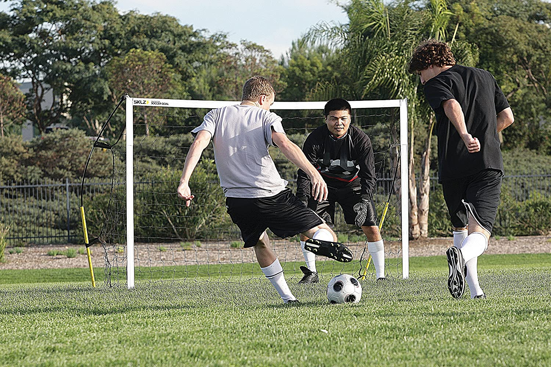 amazon com sklz quickster soccer goal quick set up ultra