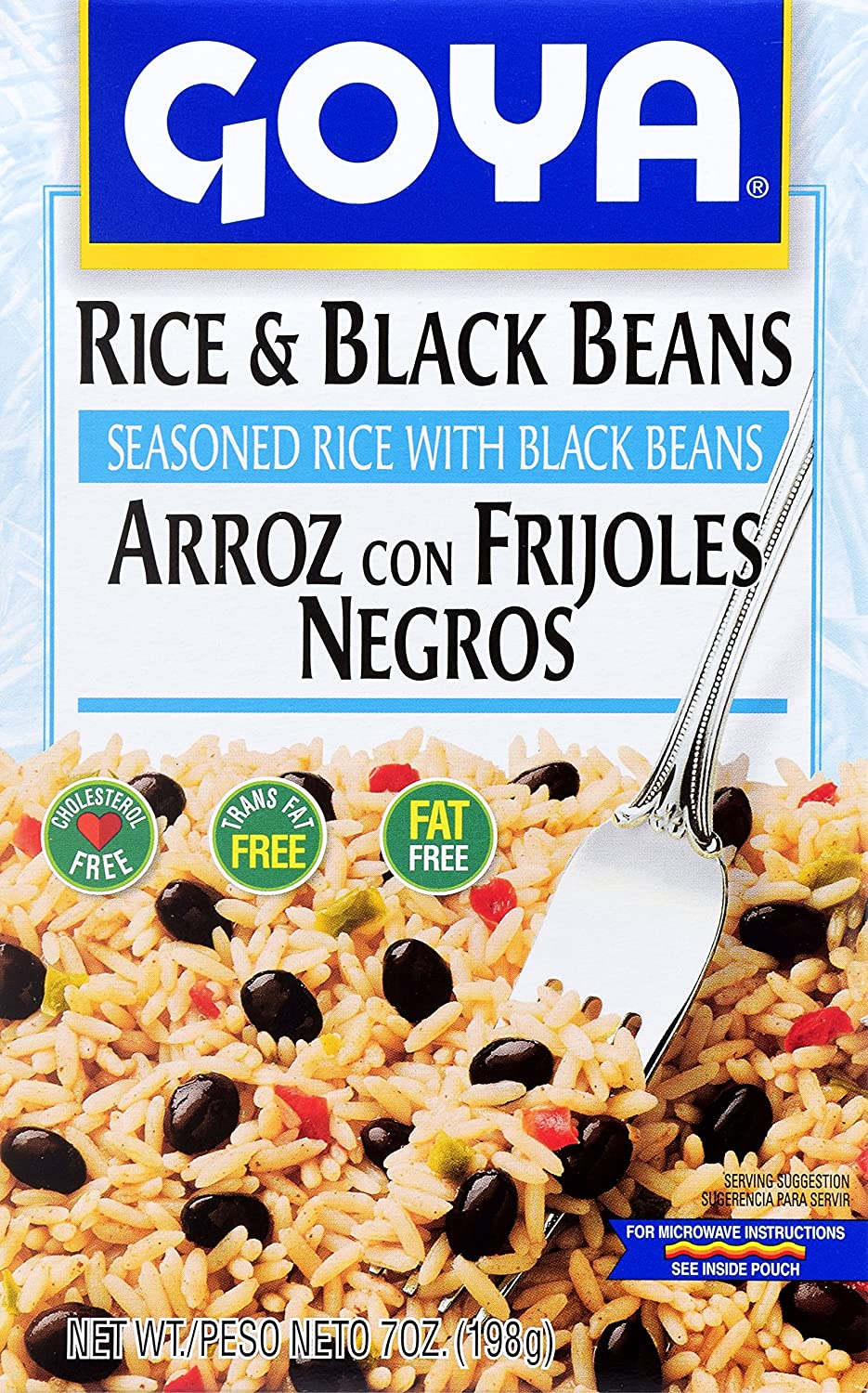 Amazon Goya Foods Rice And Black Beans Mix 7 Oz Grocery