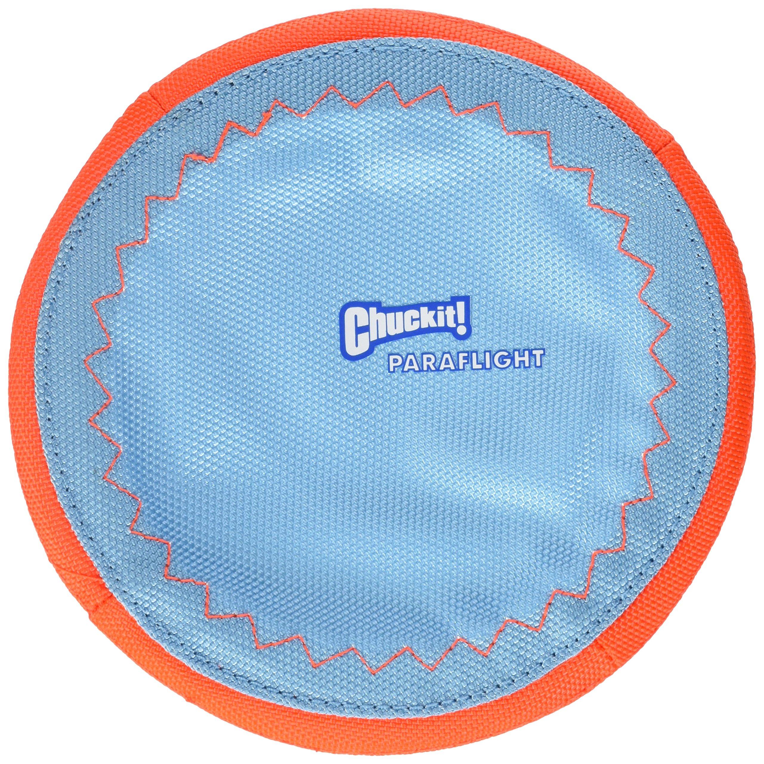 Chuckit! Paraflight Dog Toy Blue/Orange Small