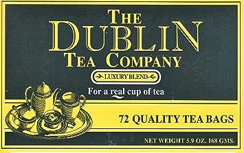 low priced f6fe3 feba7 The Dublin Tea Company Luxury Blend - 72 Tea Bags