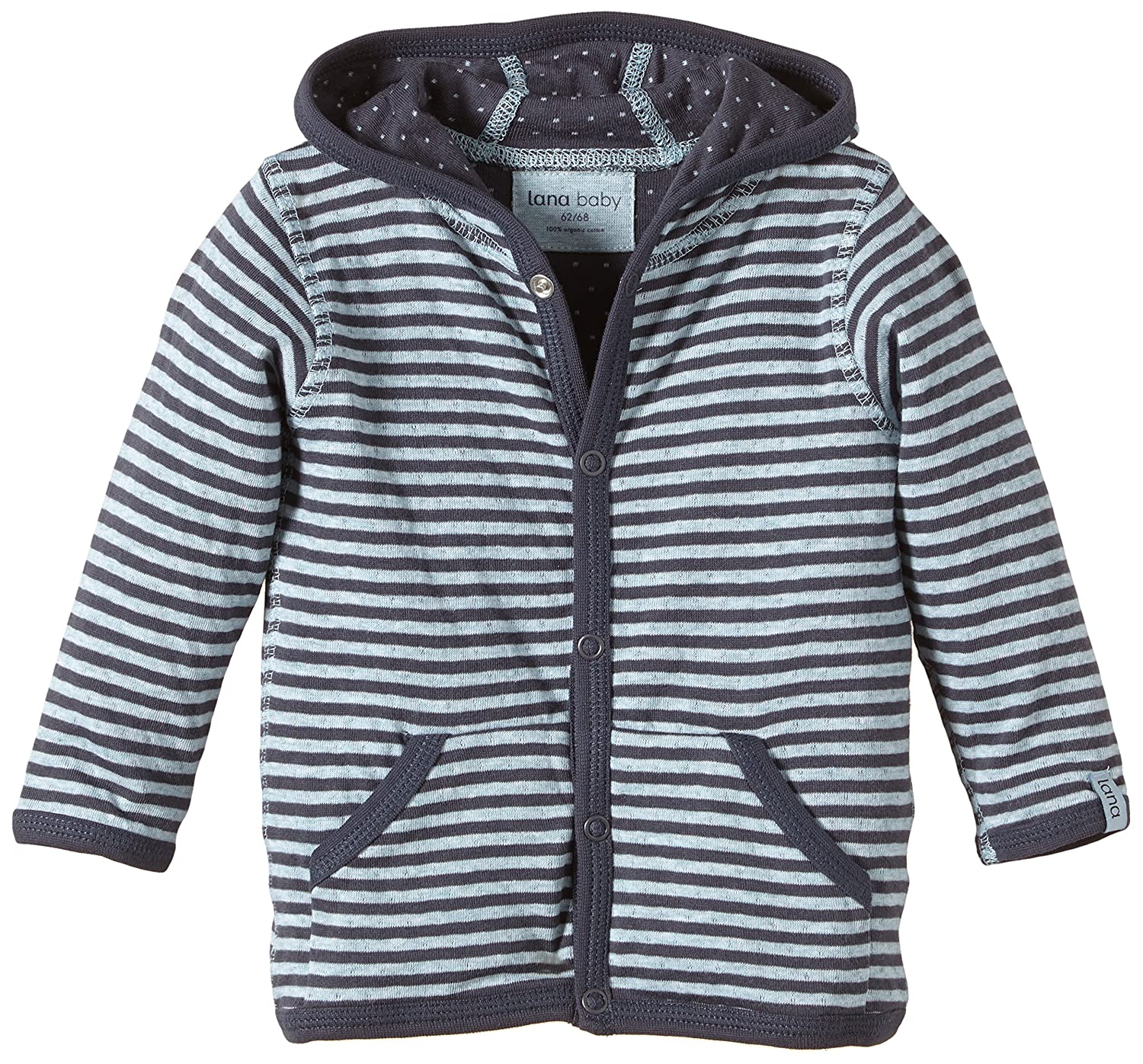 Lana natural wear Unisex - Baby Strickjacke Wendejacke Momo LANA natural wear GmbH 900 3002 5059
