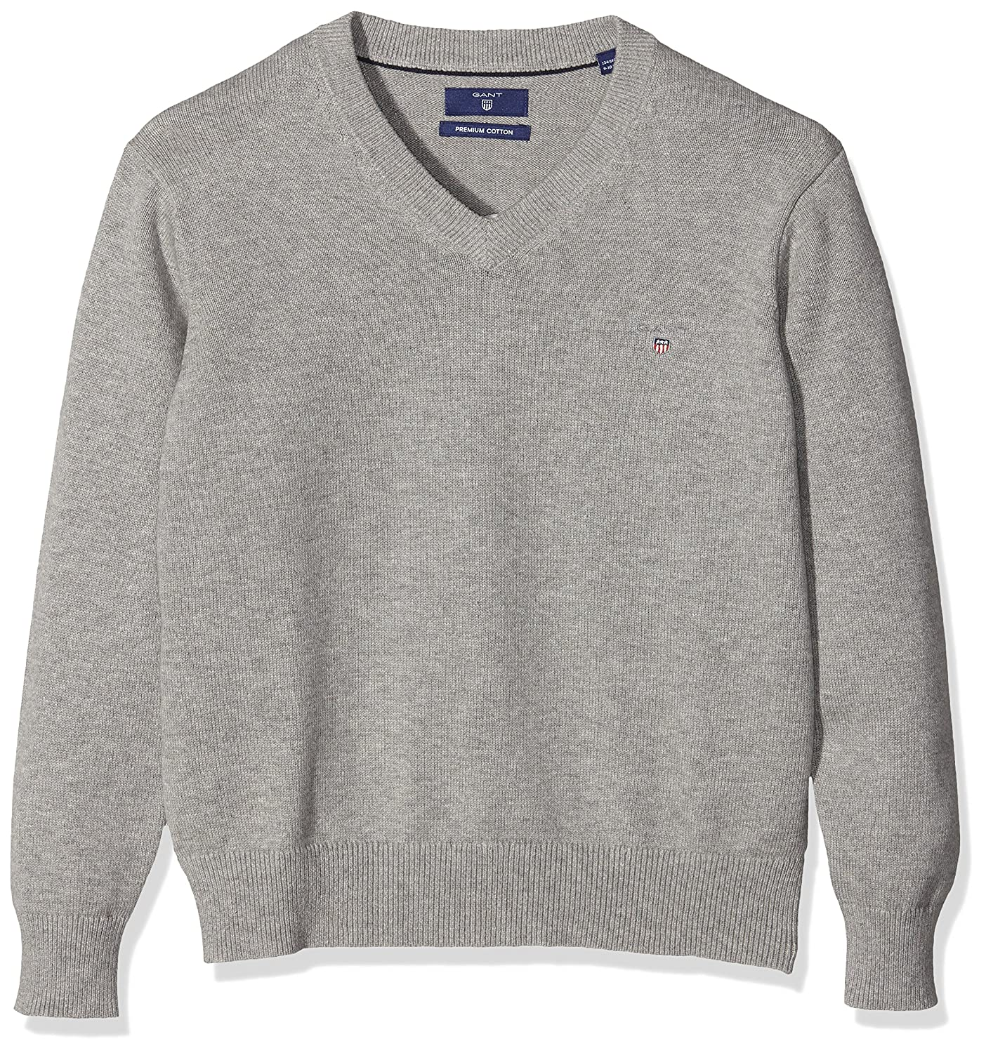 GANT Jungen Pullover Cotton V-Neck