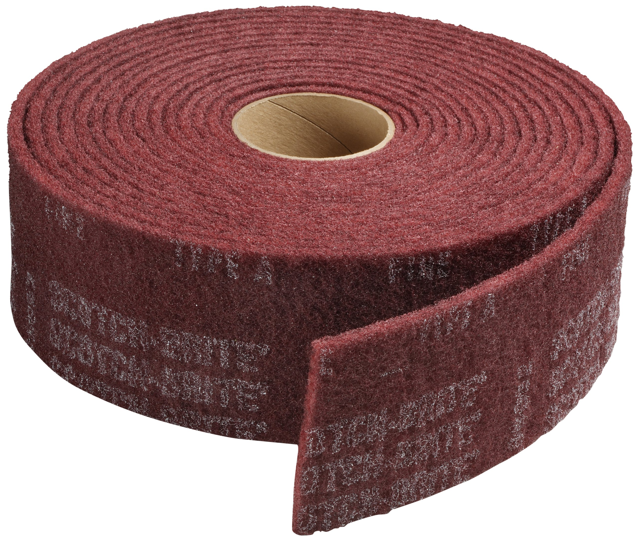 Scotch-Brite(TM) Clean And Finish Roll, Aluminum Oxide, 30' Length x 4 Width, Very Fine Grit (Pack of 3) by Cubitron (Image #1)