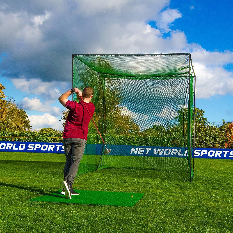 amazon com freestanding golf cage home driving range net