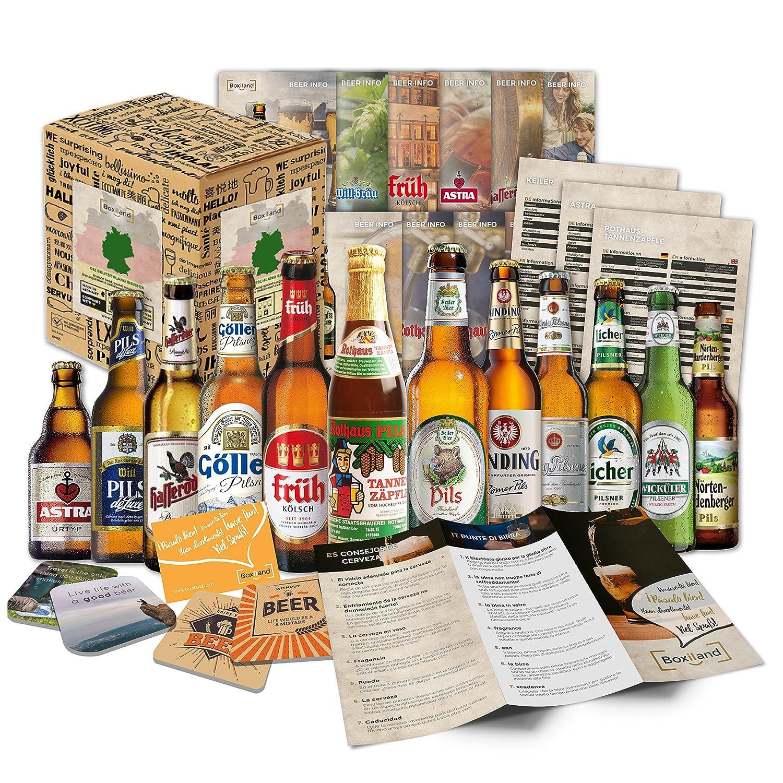 Geschenkbox mit Bier - Weihnachtsgeschenkidee für Eltern ...