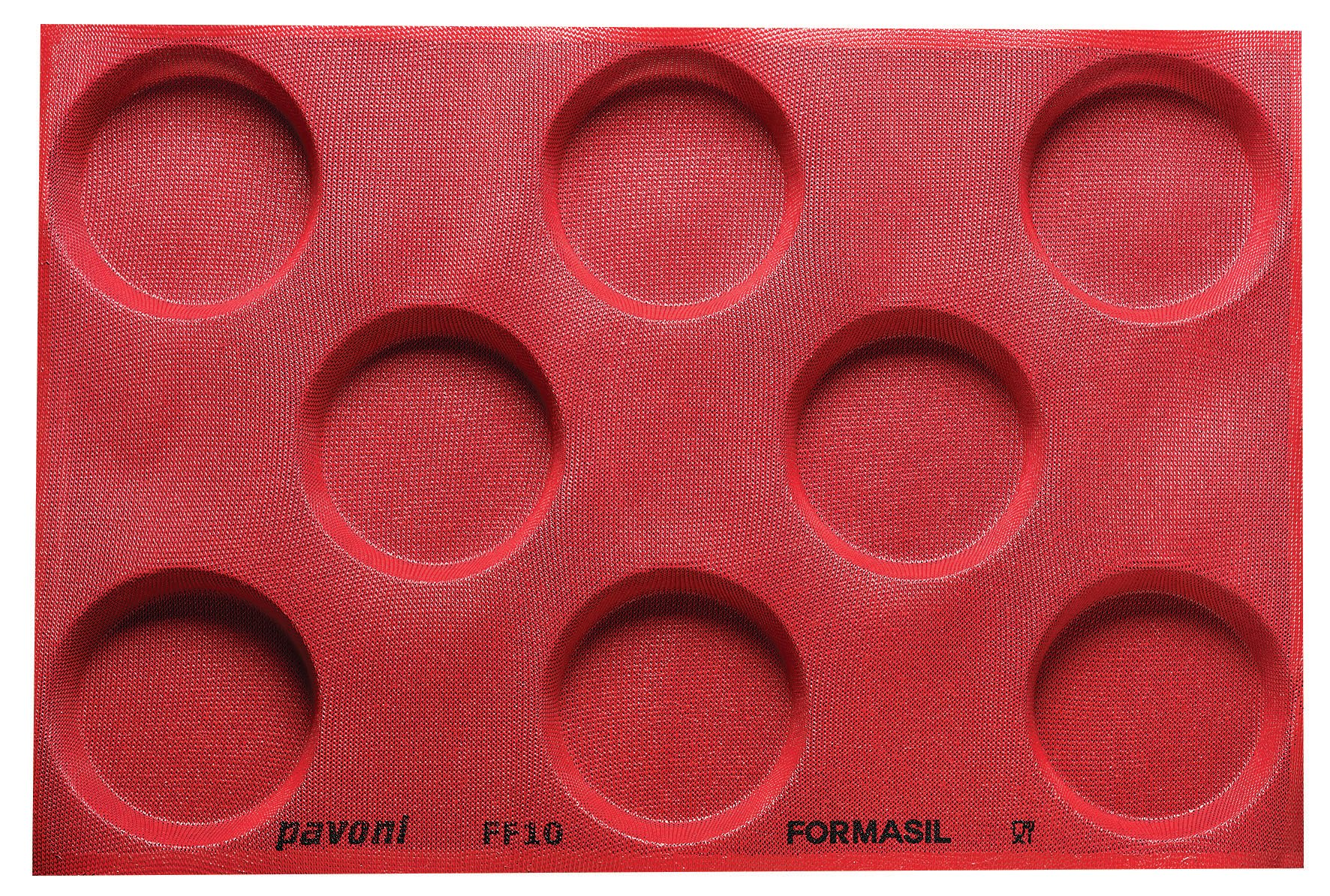 Paderno World Cuisine 47775-10 Micro Perforated Mold 4 3/4'' Red