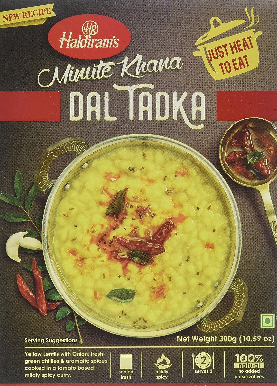 Haldirams (ready to eat) yellow dal tadka