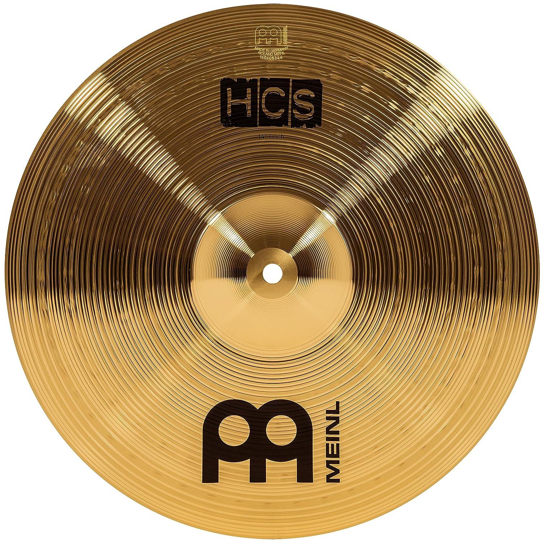Meinl Cymbals HCS14C HCS Serie 35, 56 cm (14 Zoll) Crash Becken