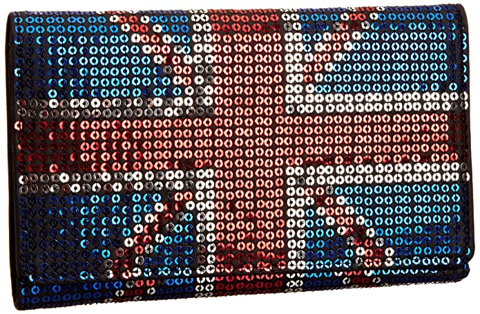 Iron Fist Union Jack IFLW0010 - Monedero para mujer: Amazon ...