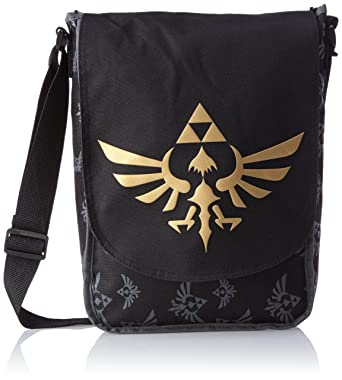 ca9713a8928 Zelda Nintendo Skyward Sword Triforce Logo Flight Messenger Bag ...