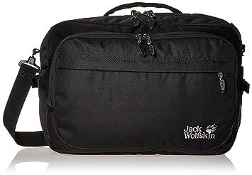 782af8efb5a Jack Wolfskin Umhängetasche Jack.Pot DE Luxe Bag Shoulder, Black, 47 x 33