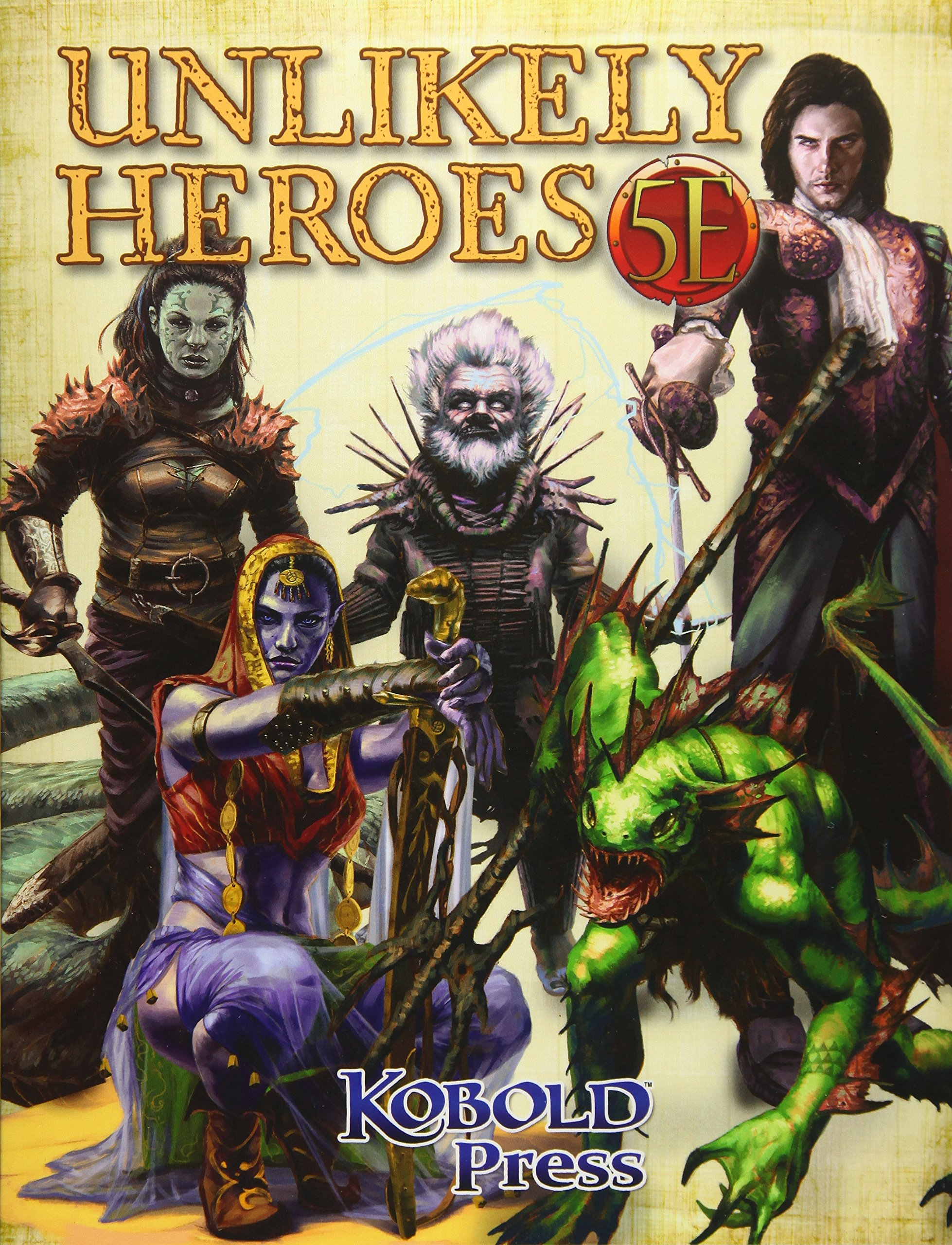 Unlikely Heroes for 5th Edition: Dan Dillon: 9781936781669: Amazon.com:  Books
