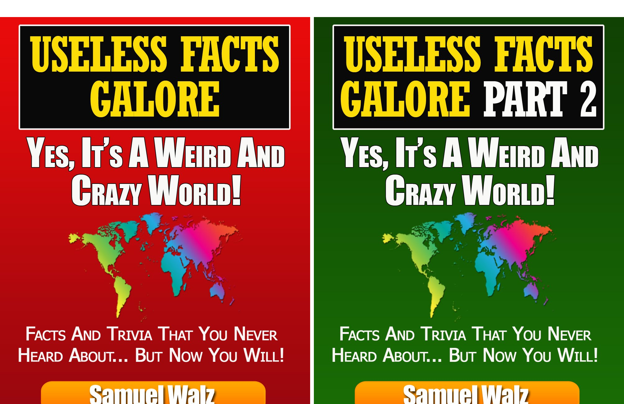 Useless facts Galore (2 Book Series)