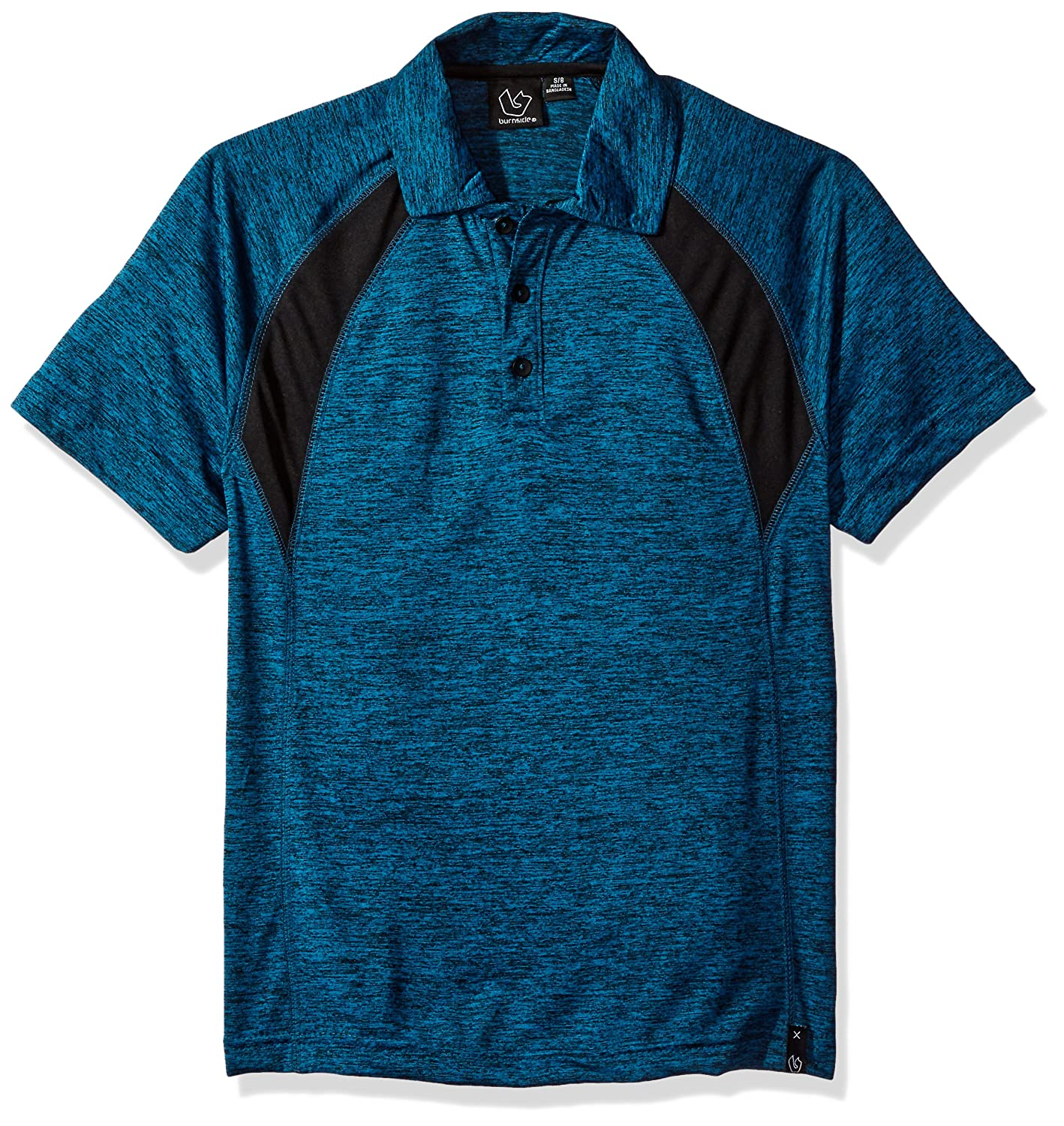 Burnside Boys Big Boom Performace Tech Polo Shirt