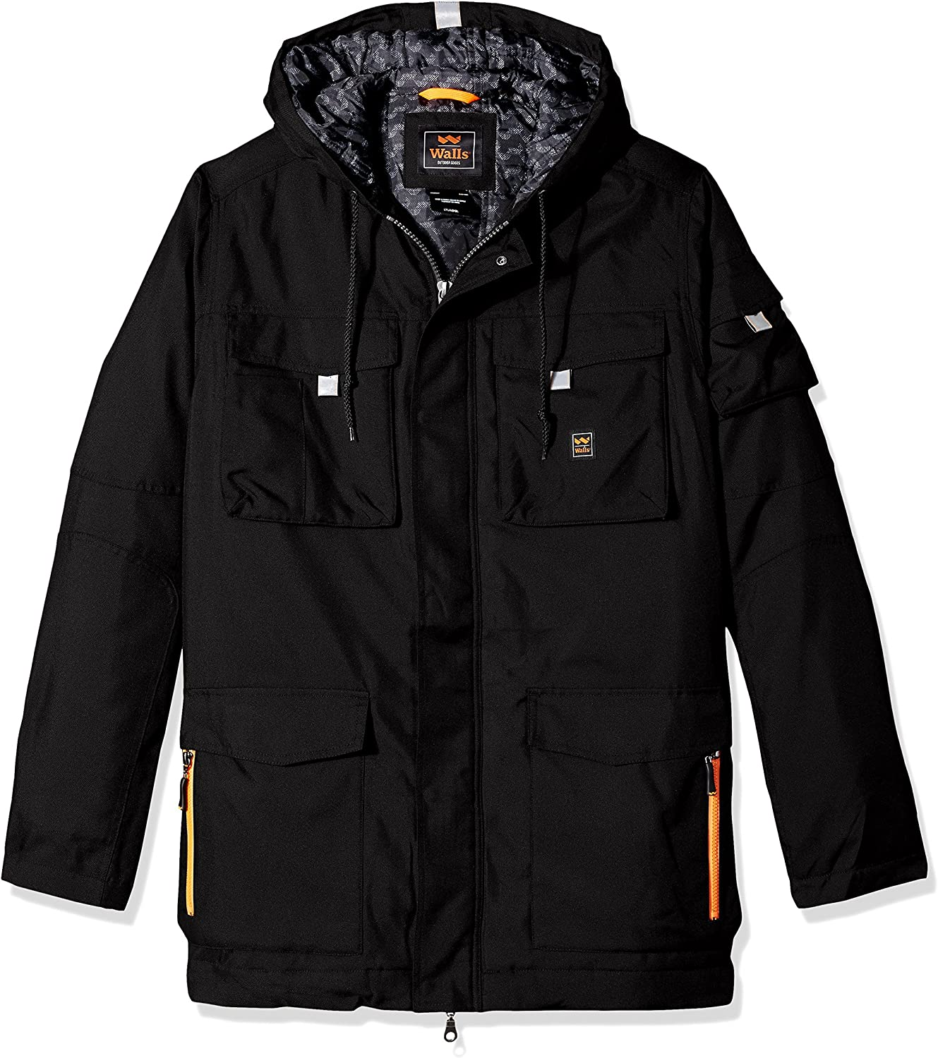 Walls Mens Cut and Shoot Modern Work Hooded Coat Big-Tall