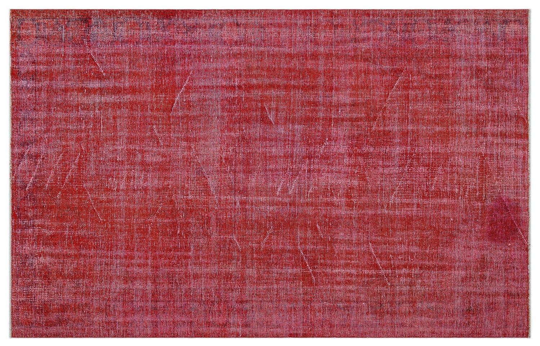 Bespoky ビンテージ 手織 ラグ 赤 大きいサイズ 180 X 283 Cm   B07HN9WTJH
