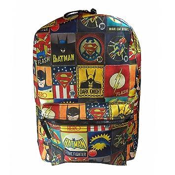 ac13cf1e7c2 DC Comics Batman/Superman and The Flash Vintage Backpack: Amazon.co ...