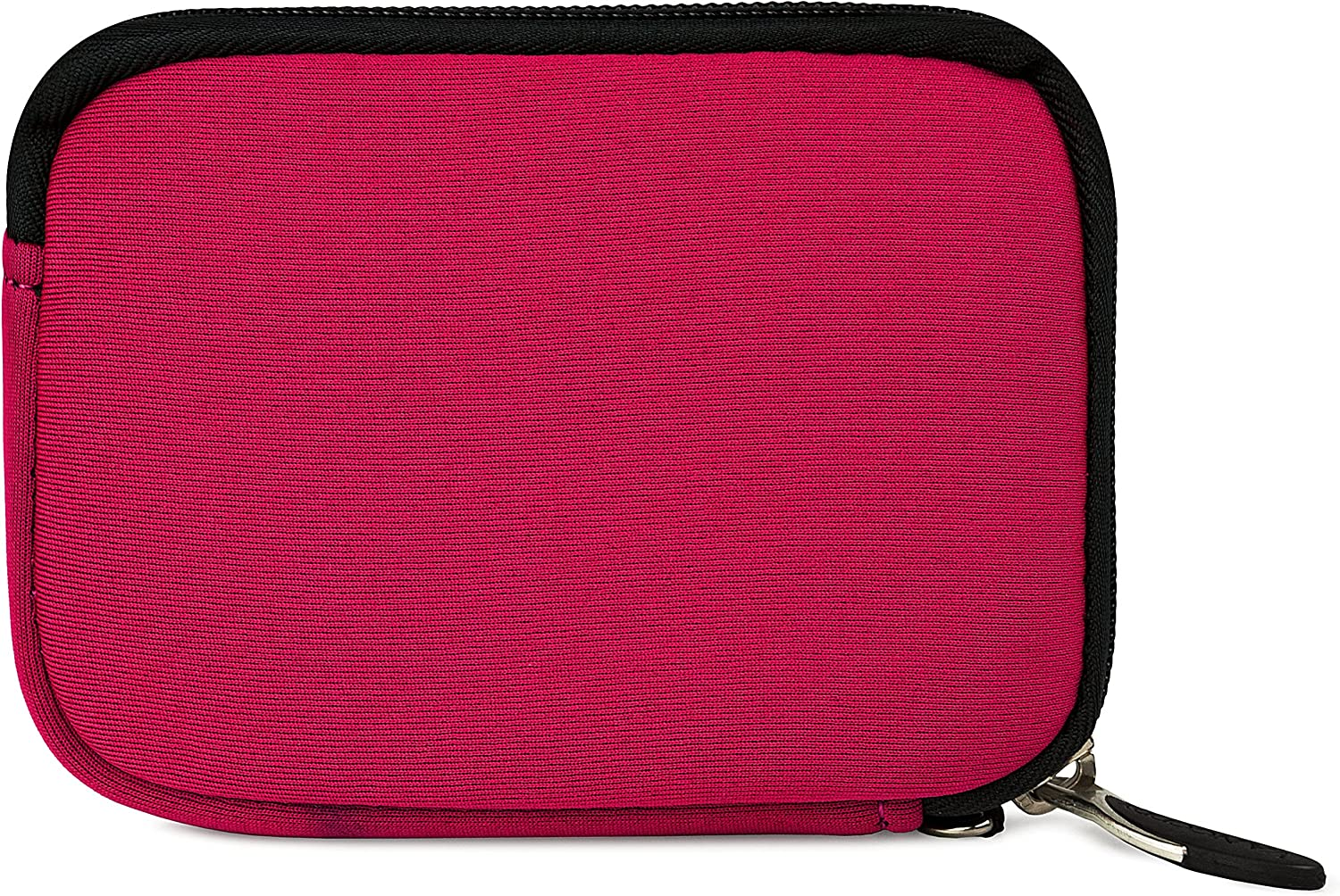 Magenta and Black VanGoddy Mini Glove Sleeve Pouch Case for Olympus Digital Cameras