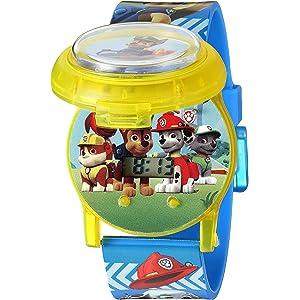 Nickelodeon Kids PAW4032 Digital Display Quartz Multi-Color Watch