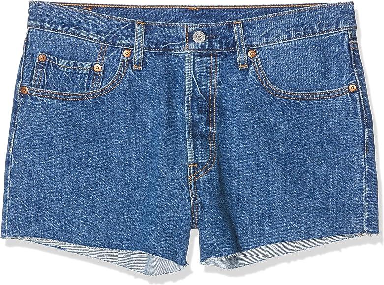 Levis 501 Short, Pantalones Cortos para Mujer: Amazon.es: Ropa y ...
