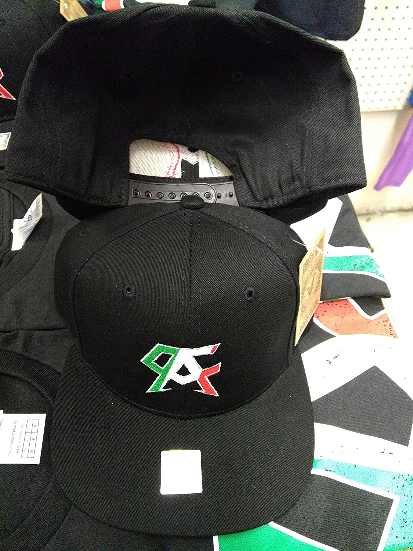 e2254fd9eff52 Amazon.com   Canelo Alvarez Mexican Boxing Snapback hats Black   Sports    Outdoors