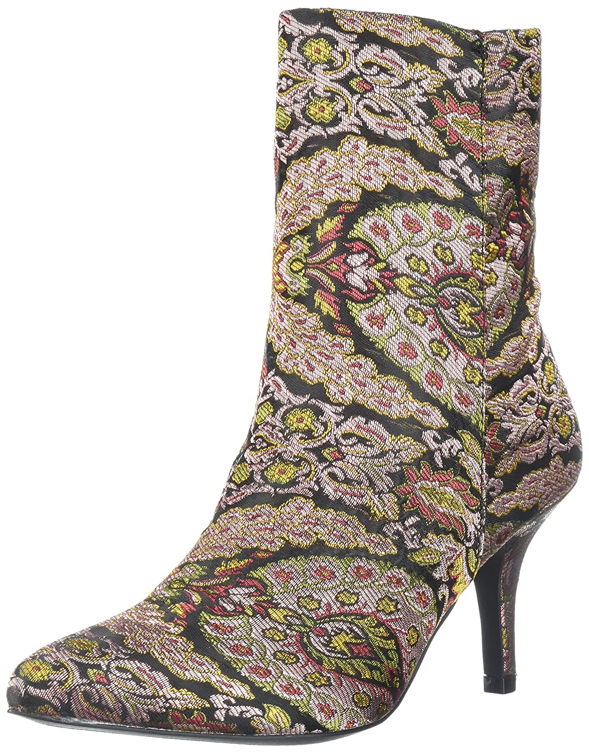 Qupid Women's Portia-05 Fashion Boot B074NJJPKY 9 B(M) US|Mauve Multi
