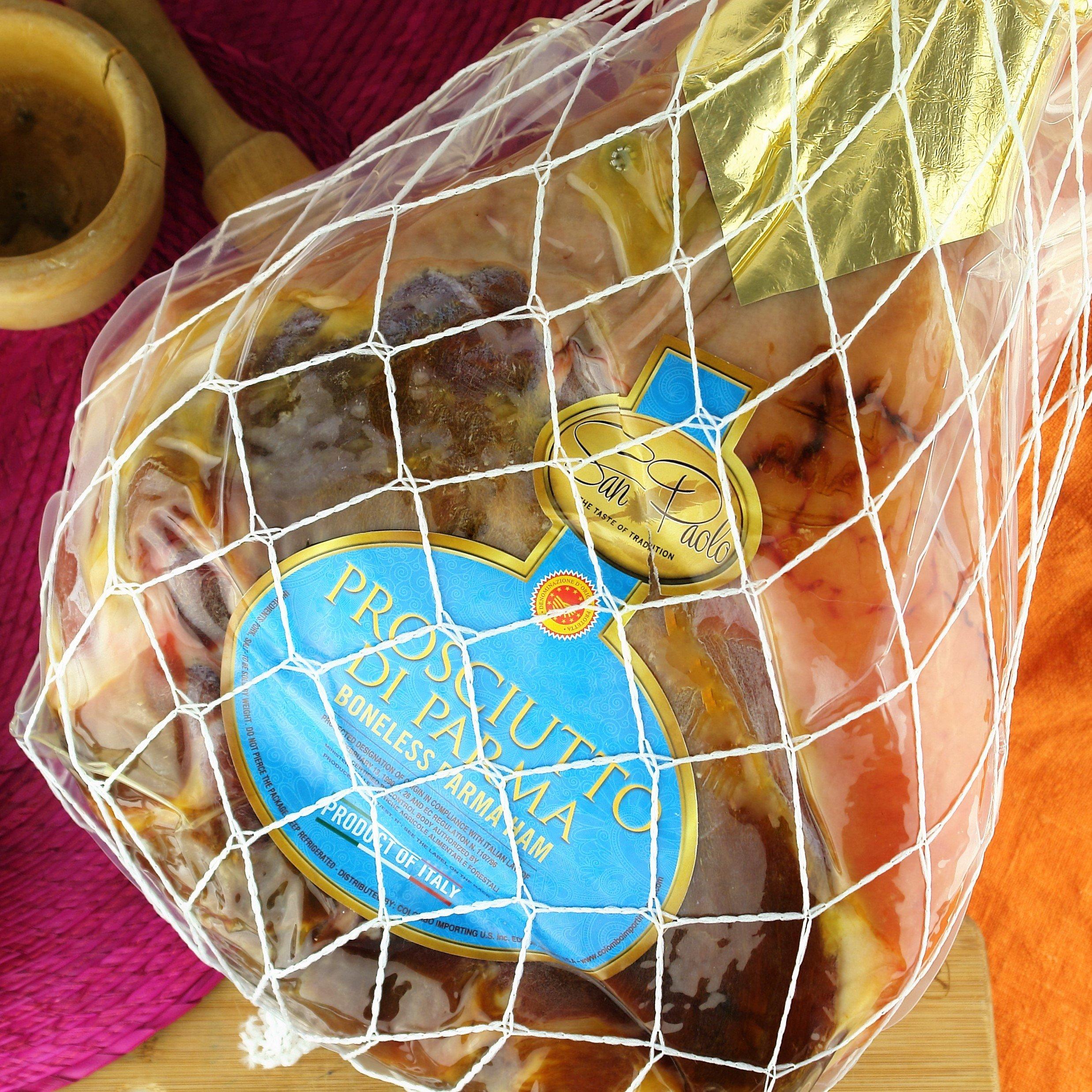 Prosciutto di Parma Ham Whole Boneless (15-17 Lbs) by San Paolo
