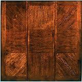 "Steve Silver Company Lakewood Table with 18"" Leaf, 42"" x 60""-78"" x 30"", Medium Oak"