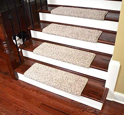 Beautiful Dean Modern DIY Peel U0026 Stick Bullnose Wraparound Non Skid Carpet Stair  Treads/Runner