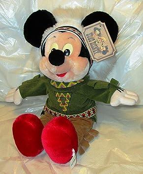 Vintage * Euro Peluche de Mickey Mouse de Disney (Mickey Mouse) como indios