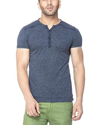 5e5487272f Tinted Men's Cotton Linen Henley T-Shirt