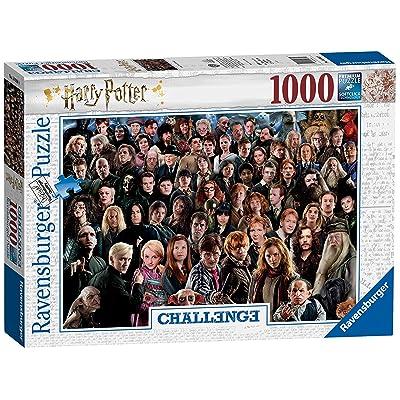 Ravensburger UK 14988 1000 Teile Erwachsenenpuzzle Ravensburger Harry Potter 1000pc Challenge Jigsaw Puzzle,: Toys & Games