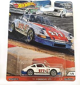 Hot Wheels Car Culture Door Slammers '71 Porsche 911 1/5, White