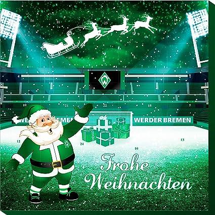 Frohe Weihnachten Werder Bremen.Riegelein Adventskalender Werder Bremen 1er Pack 1 X 120 G