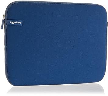 """AmazonBasics NC1506164F1 - Funda para ordenadores portátiles (13.3""""), color azul marino"""
