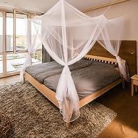 FREILUFTRAUM - Großes Moskitonetz für Doppelbetten 200x220x200cm