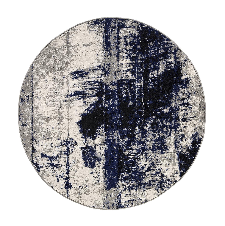 Andiamo Teppich Puerto Webteppich Designteppich Kurzfloorteppich Musterteppich –  120 x 170 cm, Creme B079JVS74T Teppiche
