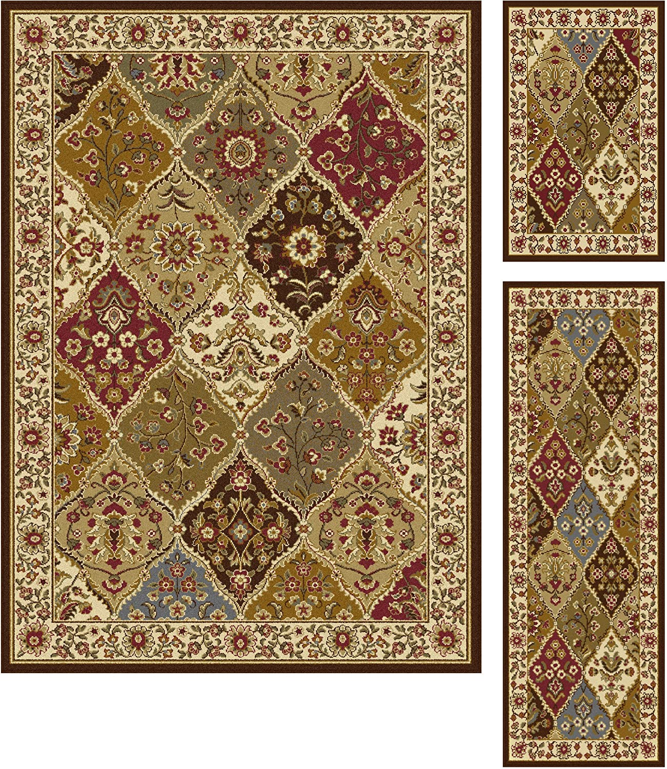 Amazon Tayse Rugs Elegance Collection 5120 Abstract Rug