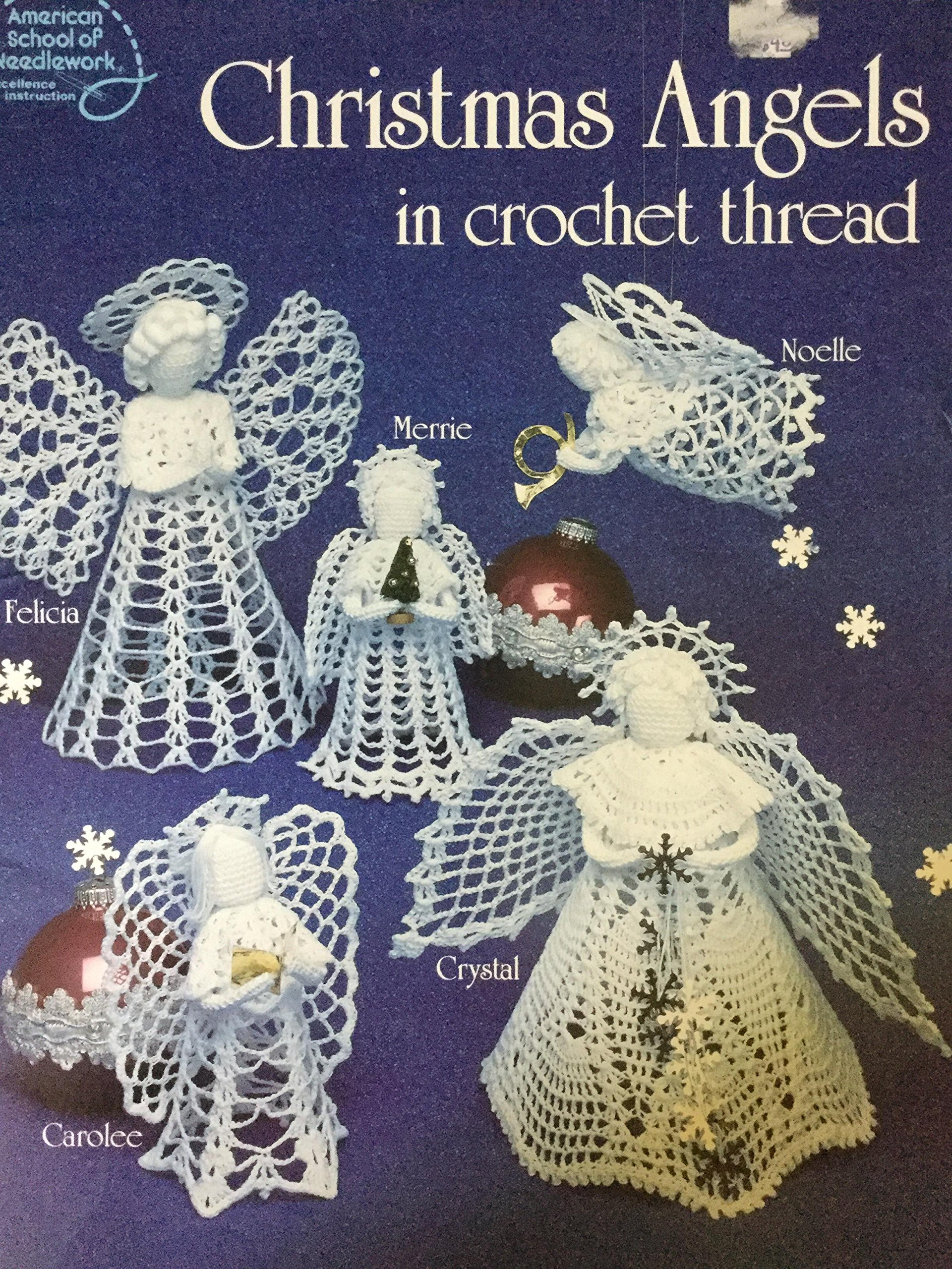 Christmas Angels in crochet Thread (1057) Paperback – 1988