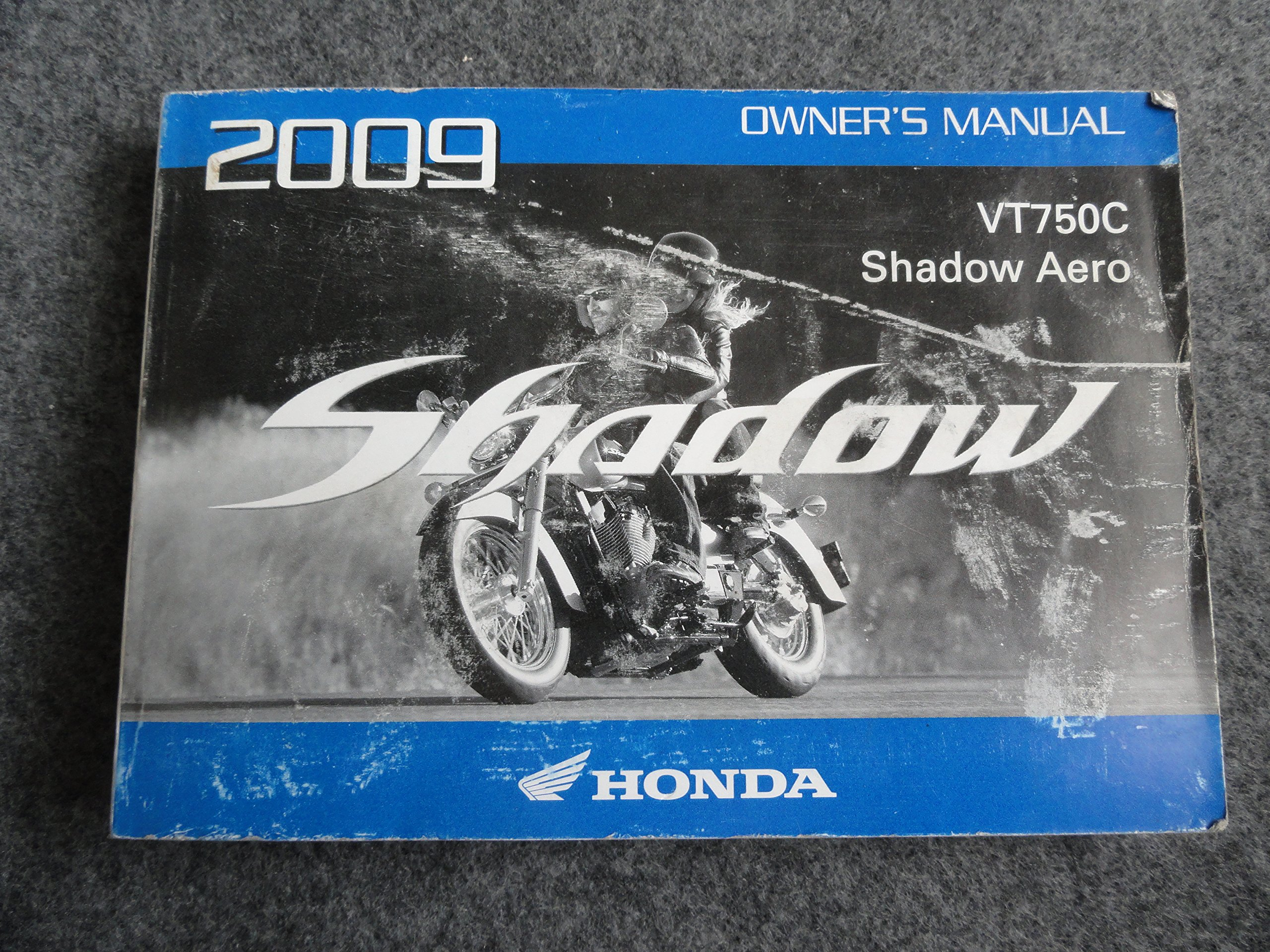 2009 Honda VT750 Owners Manual VT 750 C Shadow Aero: Honda: Amazon.com:  Books