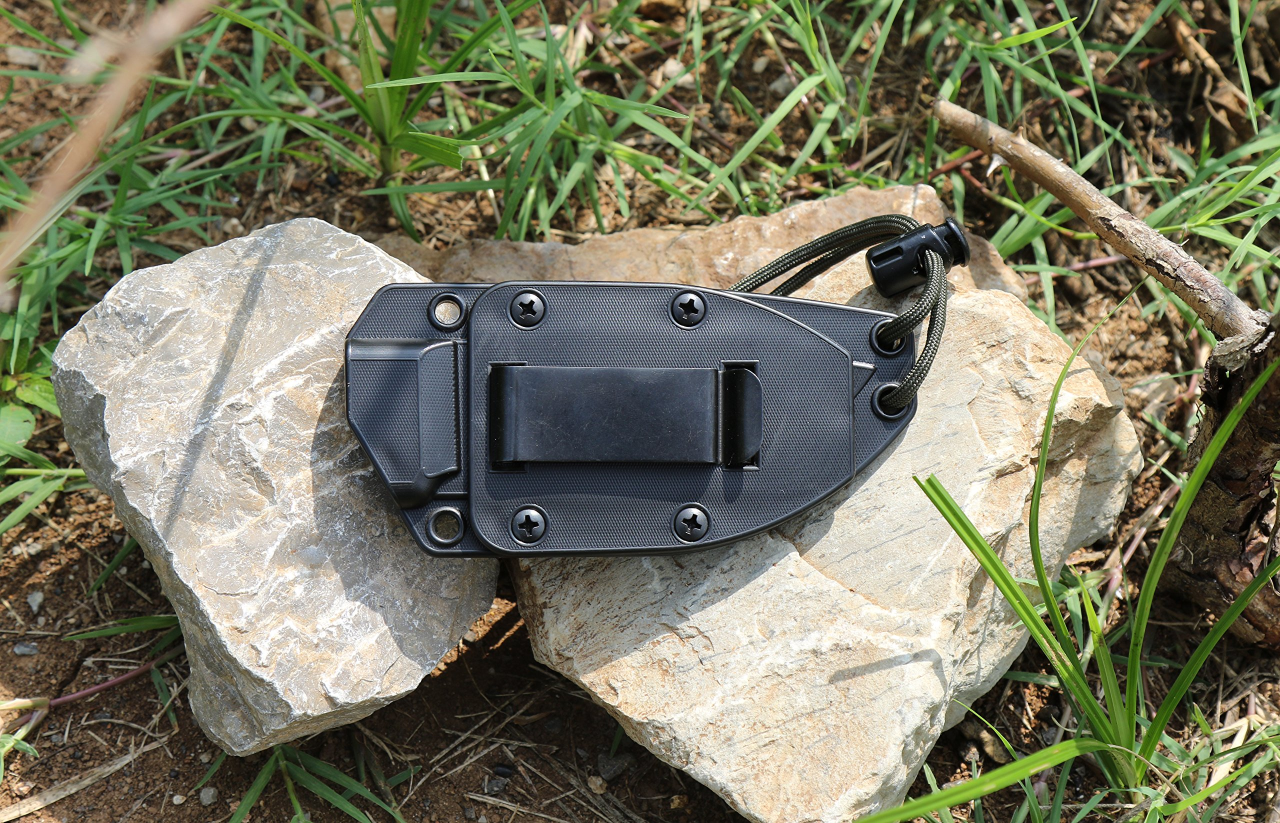 ESEE Knives 3P Fixed Blade Knife with Molded Polymer Sheath by ESEE (Image #6)