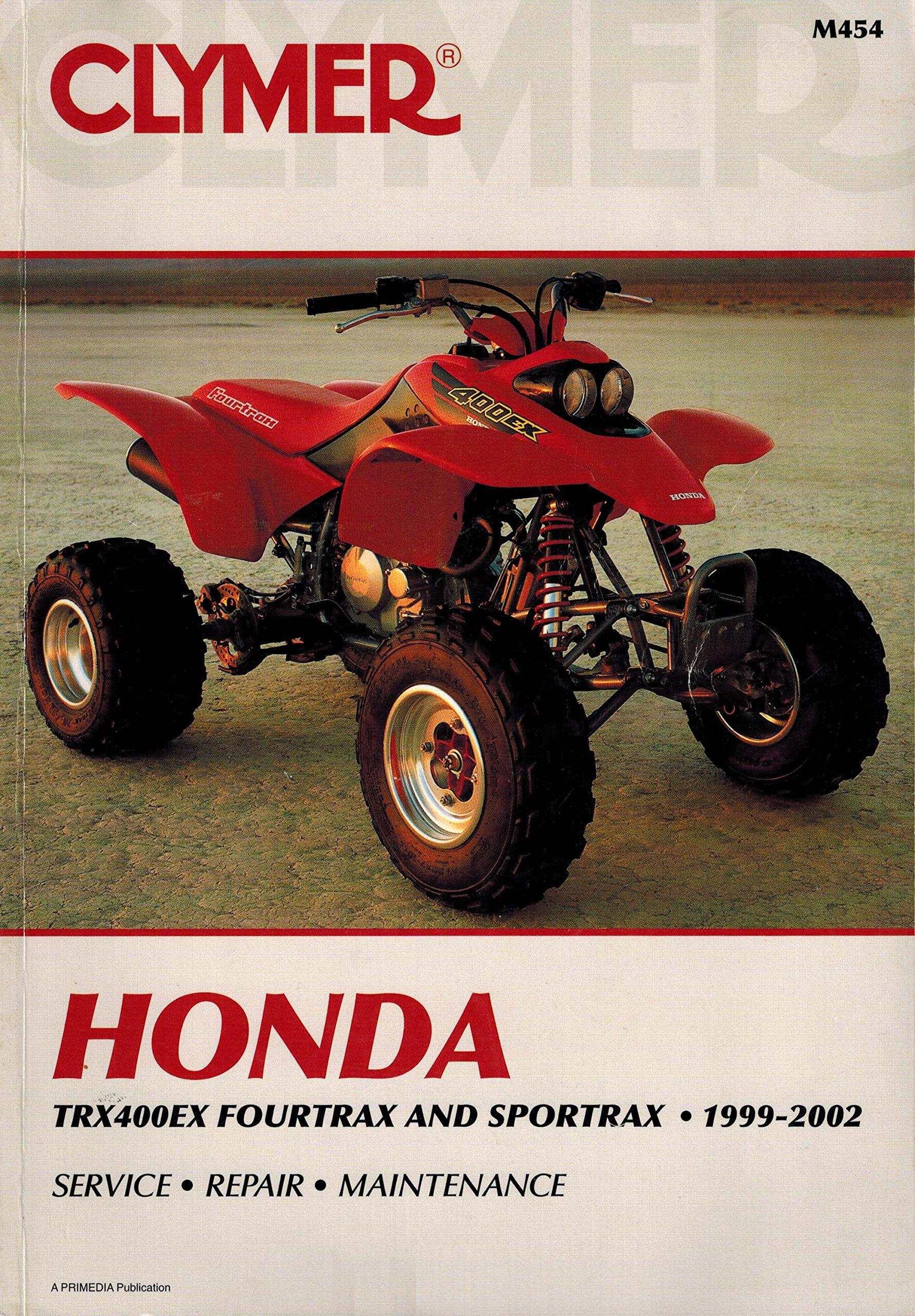 Clymer Honda Trx400ex Fourtrax and Sportrax, 1999-2002: Jay Bogart, Tim  Bergland: 9780892877799: Amazon.com: Books